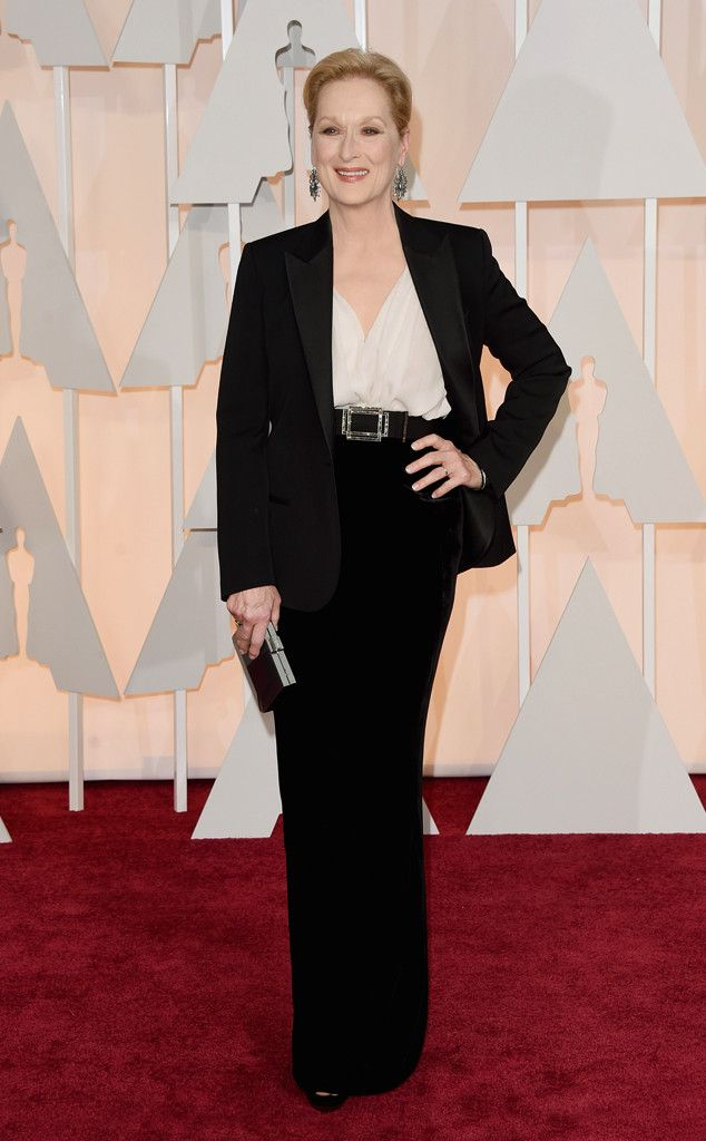 2015 Oscars: Red Carpet Arrivals Meryl Streep, 2015 Academy Awards Oscars