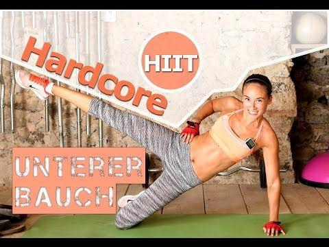 Unteres Bauchfett - Bauch Workout - Fettverbrennung - 12 Min Hardcore HIIT - Sixpack bekommen - YouTube