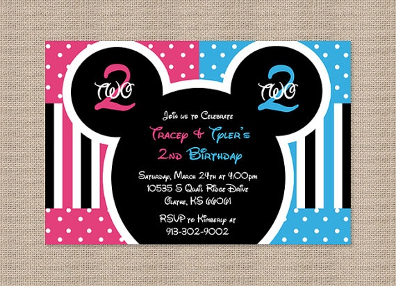16 best images about Mickey Minnie Party – Mickey and Minnie Party Invitations