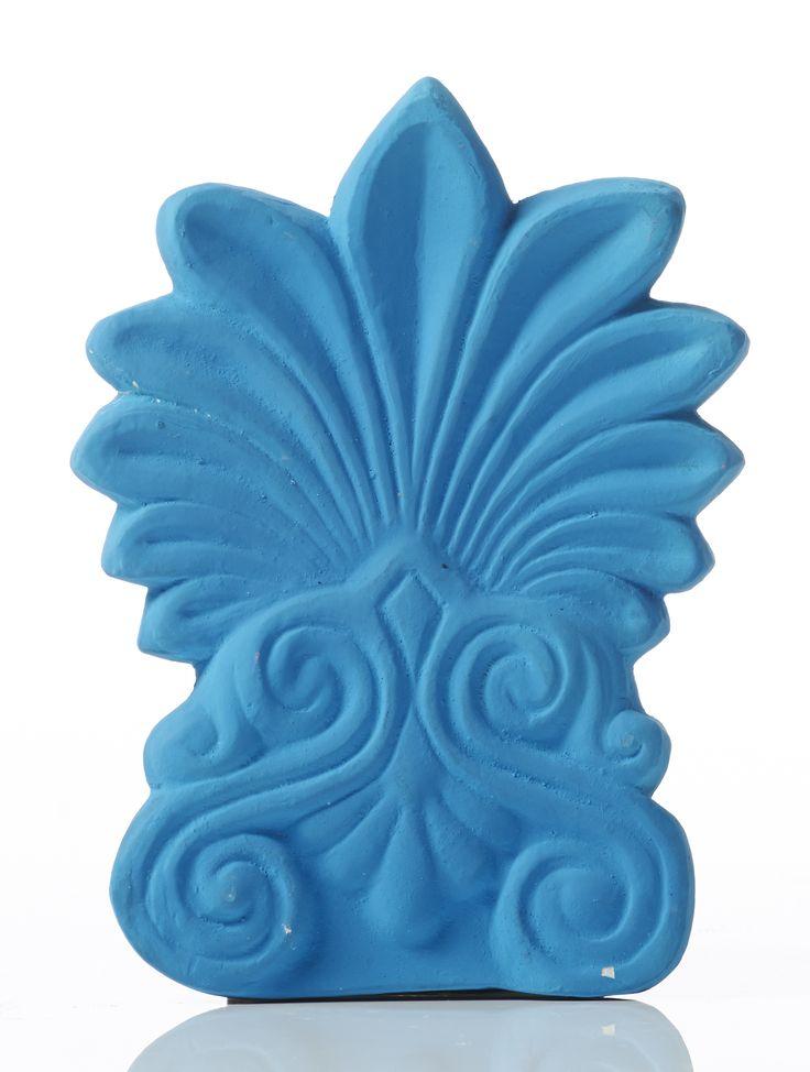 Akrokeramo Wall Small. Dimension: 17x12x2cm Material: Ceramine. Color: Light Blue.