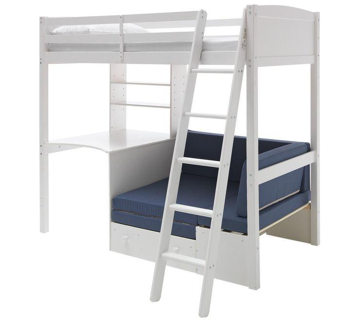 The 25 Best High Sleeper Ideas On Pinterest High Sleeper Bed High Sleeper With Desk And Childrens Bedroom Wallpaper Uk