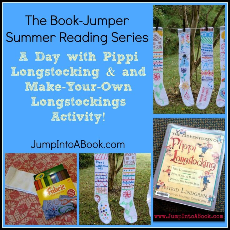 The Book Jumper Summer Reading Series: A Day With Pippi Longstocking