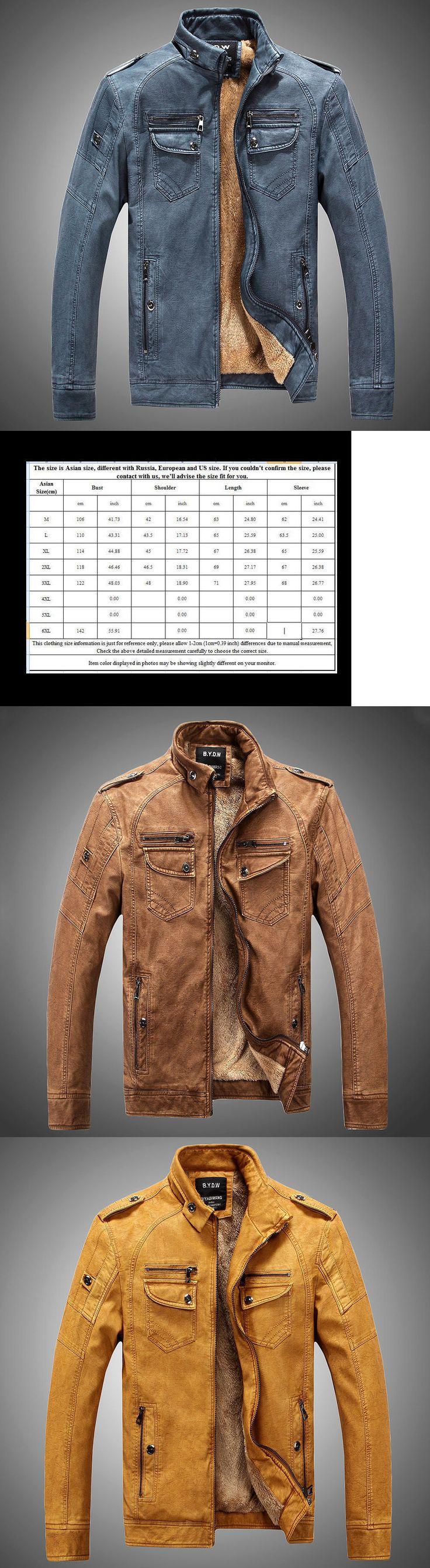Men Coats And Jackets: 2017Men S Genuine Lambskin Leather Jacket Black Slim Fit Biker Motorcycle Jacket -> BUY IT NOW ONLY: $33.96 on eBay!