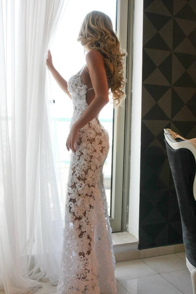 Wedding dress Salon Duet Bridal - minus the see thru bottom