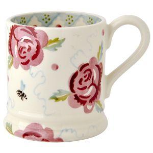 #Rose & Bee 1/2 Pint #Mug https://www.emmabridgewater.co.uk/invt/1rab010002