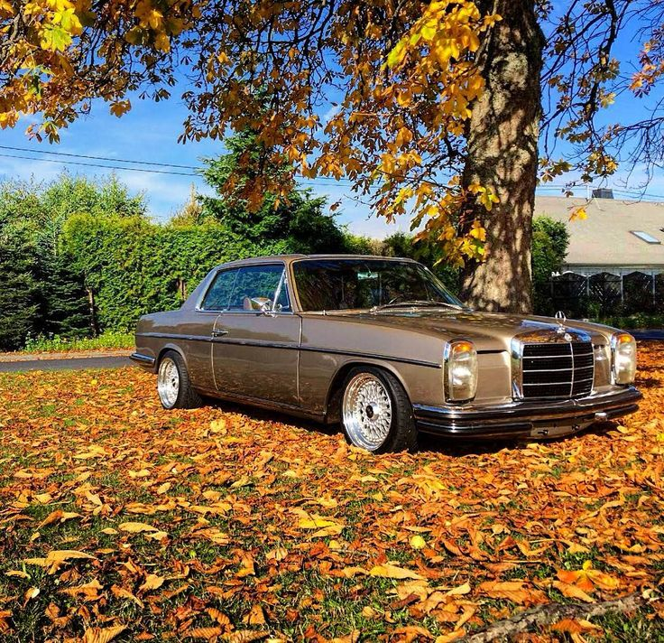 beautiful w114 coupe on bbs rims from w114 tuning. Black Bedroom Furniture Sets. Home Design Ideas