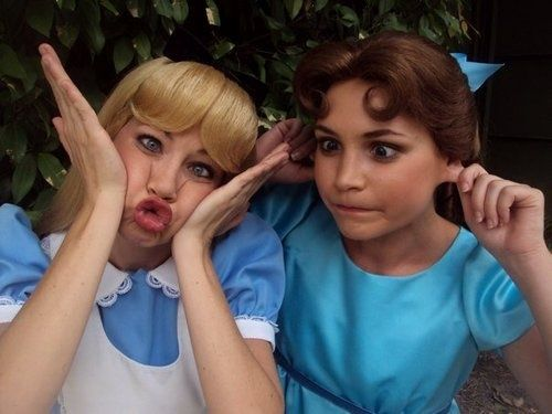 (silly) Alice and Wendy -if Rebecca and I could be them... thatd be AWESOME