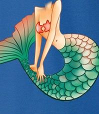 There is a Little Mermaid in all of us and this Awesome Tshirt allows you to transform into that mermaid.