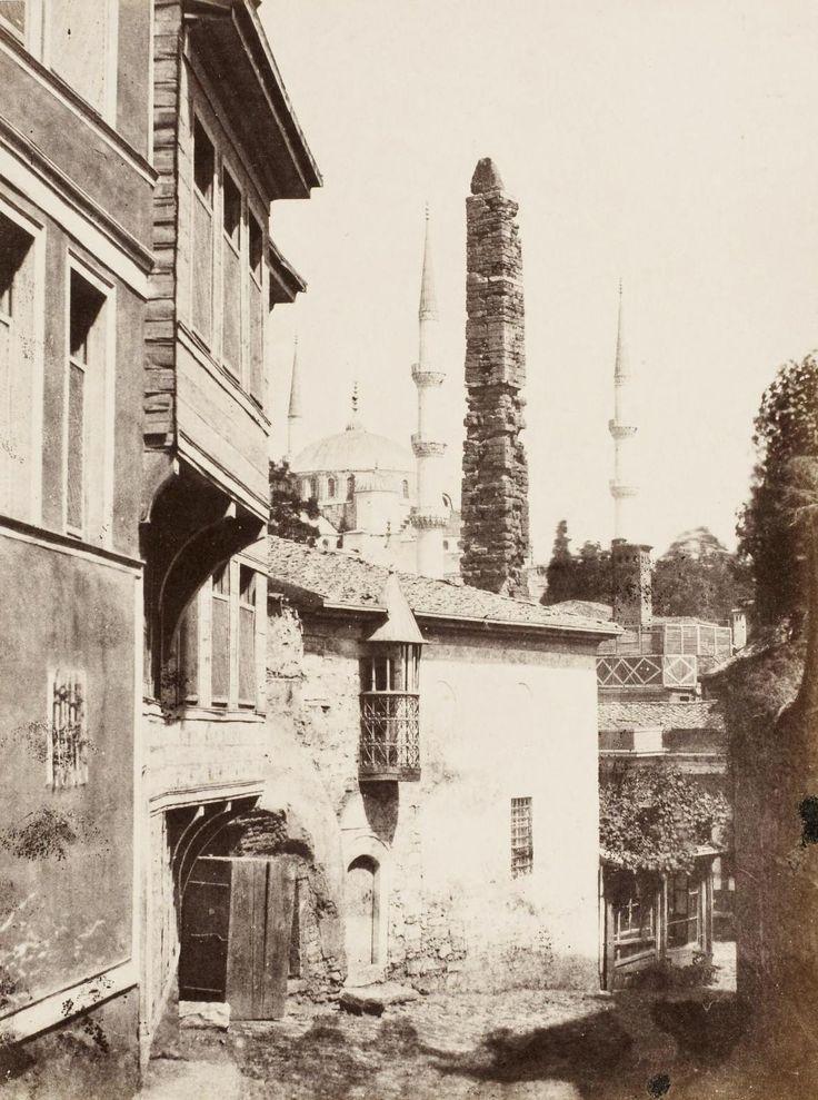 Sultanahmet Adolphe Saum, 1865-1870
