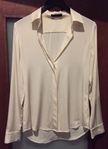 The-Row-Silk-Long-Sleeve-Cream-Blouse-Sz-4