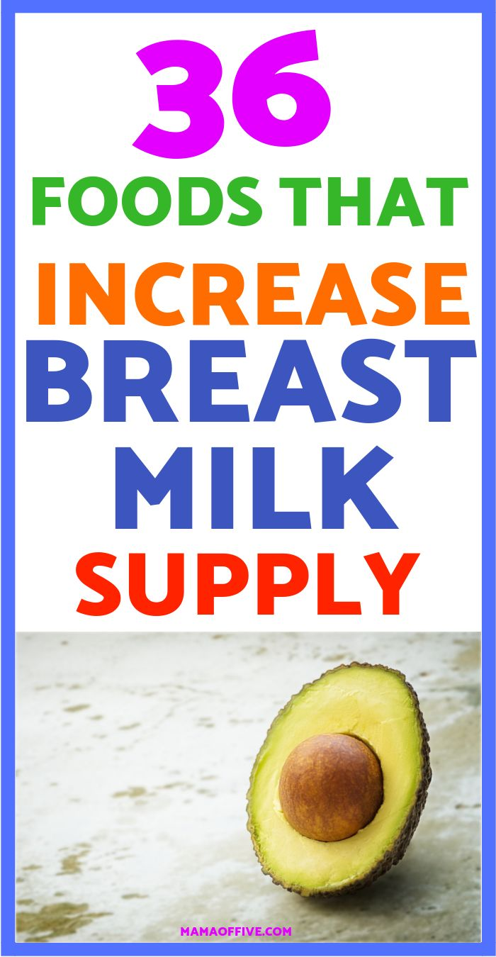 Increase Milk Supply With Food, Natural Ways To Increase -8963