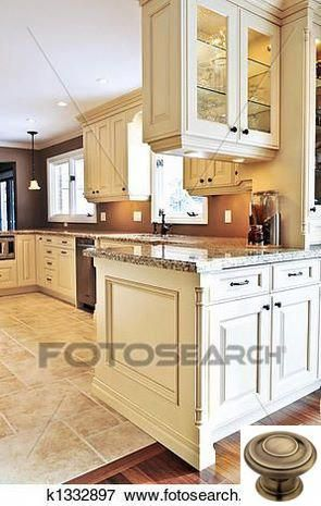 Dark, light, oak, maple, cherry cabinetry and kitchen ...