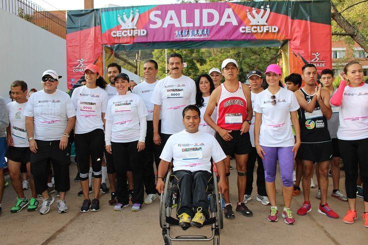 Las instalaciones de la SEMARNACC fueron el escenario donde se realizó esta gran carrera con la que se está celebrando el Día Mundial del Medio Ambiente – Morelia, Michoacán, 05 ...
