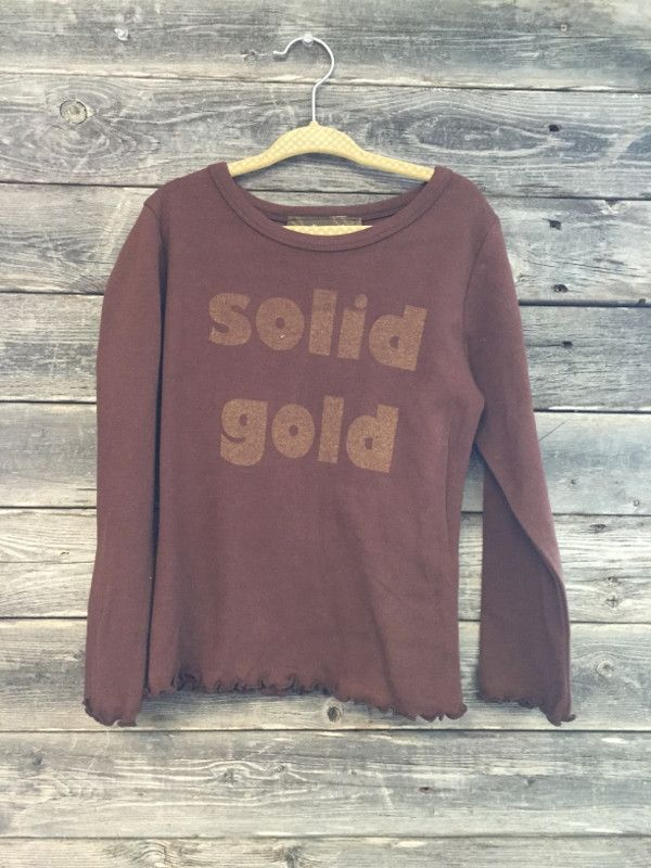 Matilda Jane Solid Gold Tee - 4T