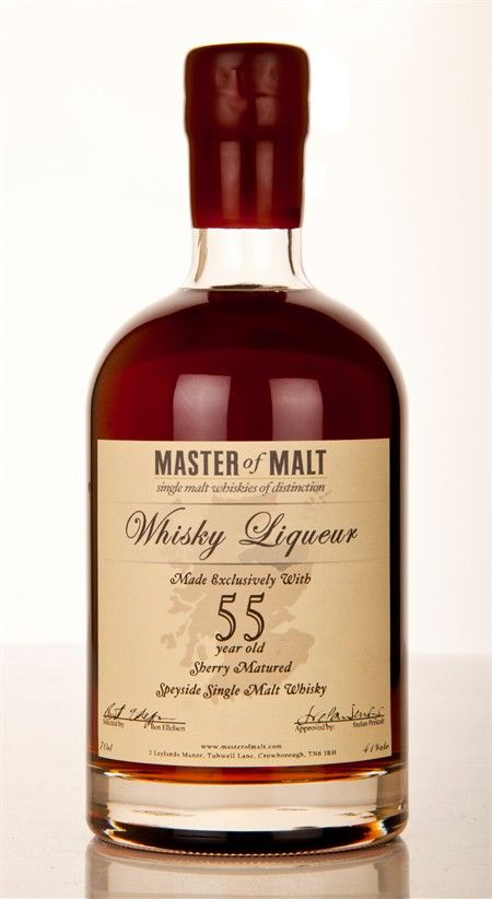 Let's put up this Speyside 55 year old Single Malt Whisky......................