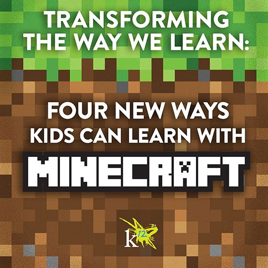 Do your kids love #Minecraft? Find out how kids can dig deep into learning, while having fun mining, building, and exploring in the Minecraft world.   K12 Blog thinktanK12