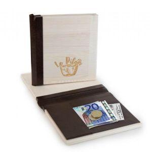 Porta Cuentas Restaurante, modelo Oporto en madera. Producto de Menu Shop, proveedores del sector de la hostelería.