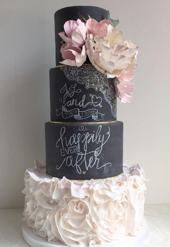 Beautiful wedding cake ideas; via The Cake Whisperer