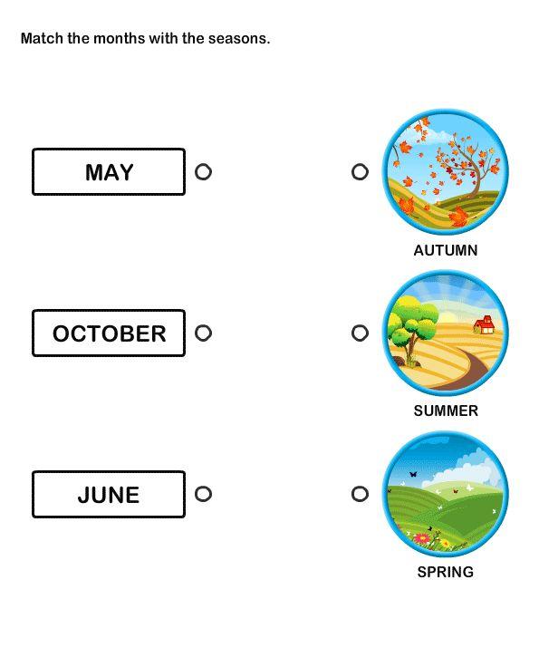 Learn All Twelve Months – Free Educational Worksheets for Kindergarten