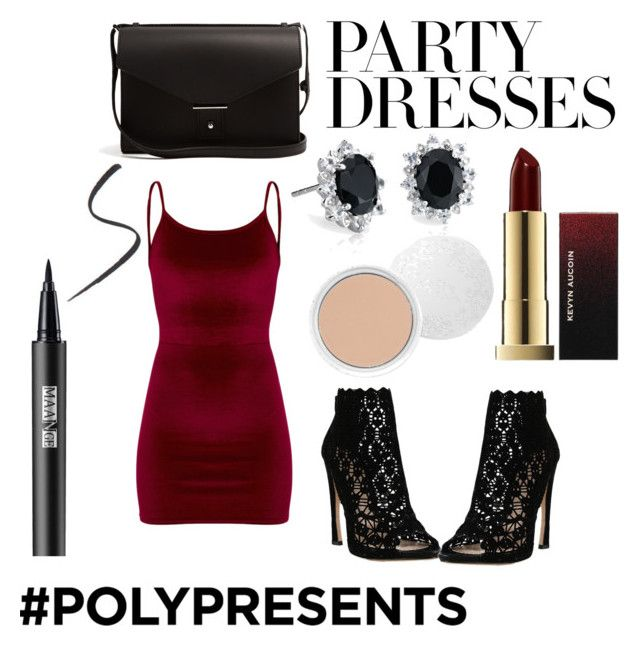 """""""#PolyPresents: Party Dresses"""" by maddy-s8674 on Polyvore featuring Sophia Kah, Blue Nile, PB 0110, 100% Pure, contestentry and polyPresents"""