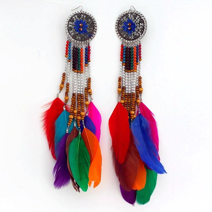 Celebrity Style Beads: 60 Best Glamorous Earrings Images On Pinterest