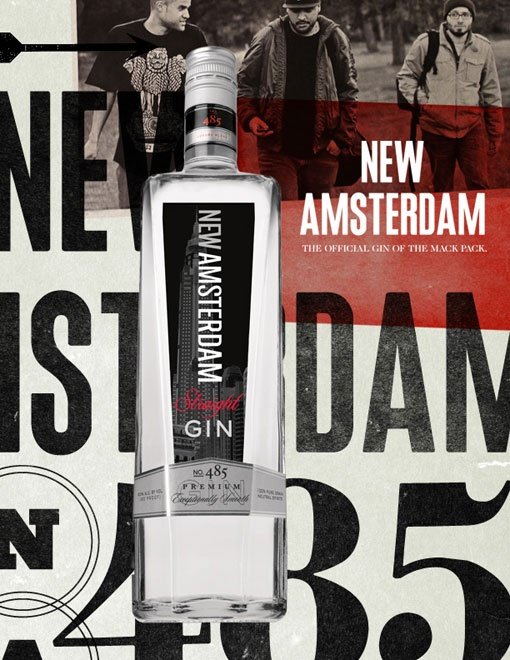 Ron Thompson: New Amsterdam Gin Look and Feel