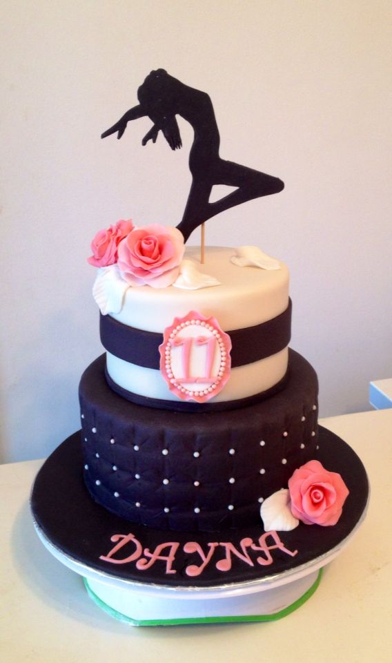 HD wallpapers birthday cake ideas for a dancer