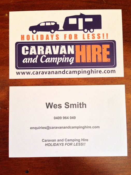 Our new Business Cards!!!