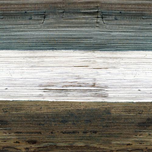 Tapete: Bunte Holzimitation aus der Mindoro Kollektion von Elitis. Wirz Tapeten - www.wirzwelt.ch