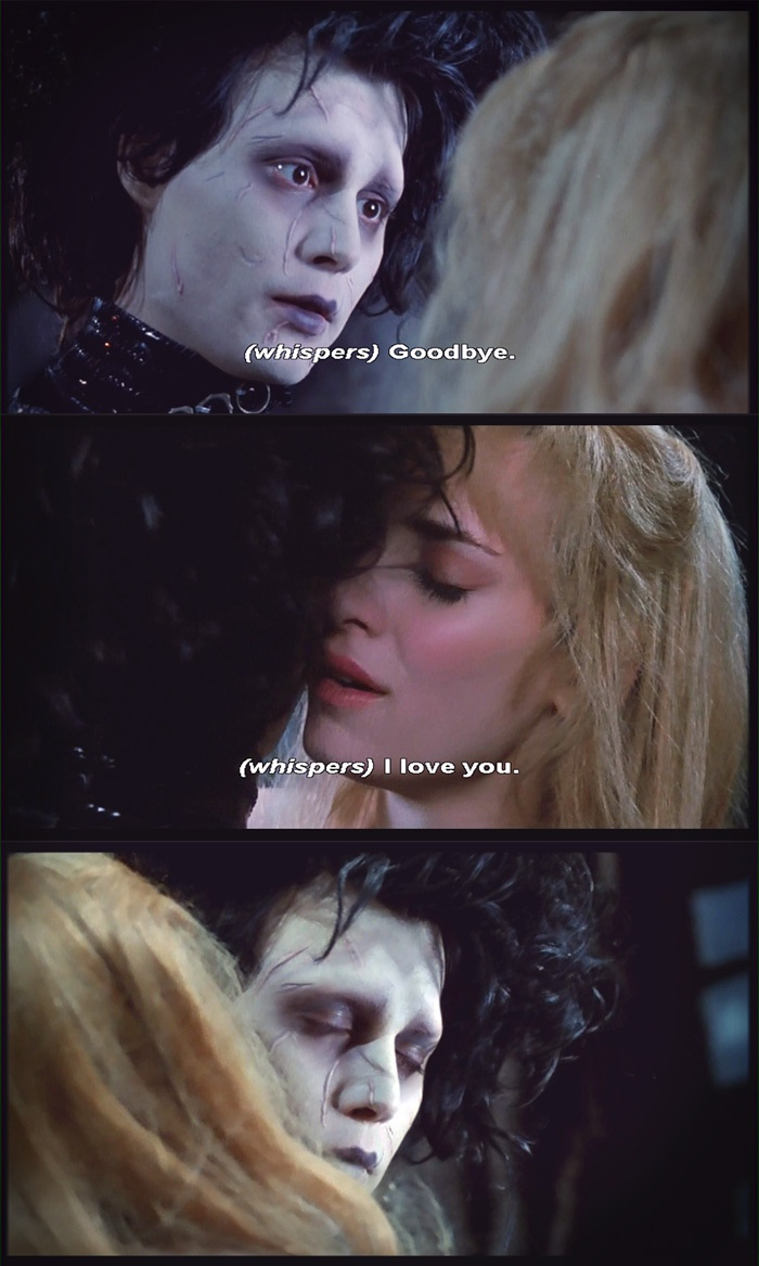 edward scissorhands themes essay Free essay: the film edward scissorhands is a contemporary archetype of the  gothic genre exploring themes such as unrequited love, social rejection and.