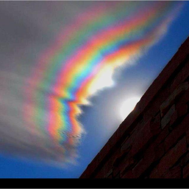 Iridescent cloud over Colorado                                                                                                                                                     More