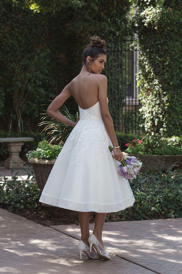 11 best Abiti da sposa corti images on Pinterest | Wedding frocks ...