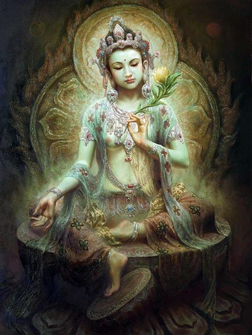 White Tara  #art
