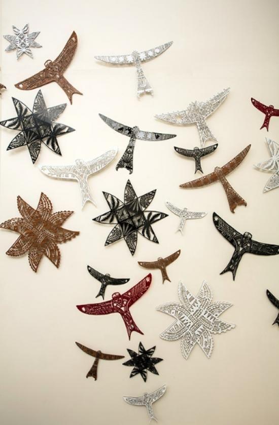 LASER CUT KITES AND STARS | Acrylic Laser Cuts - Open Edition Kites Small: 200mm x 340mm $175 Kites Large: 380mm x 590mm $325 | Flox.co.nz