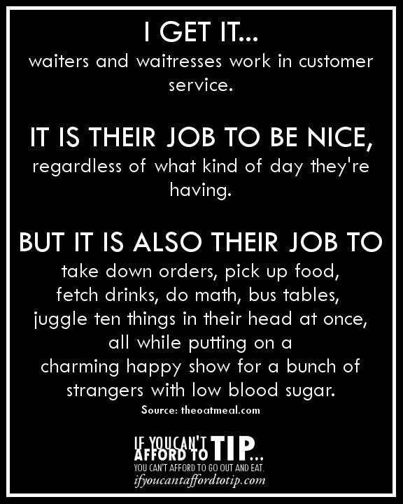 If you can't afford to Tip...