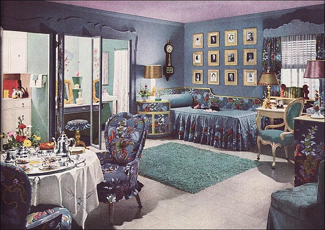 1940 Bedroom Decorating Ideas: 1000+ Ideas About 1940s Home Decor On Pinterest