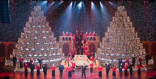 Thomas Road Baptist Church (Lynchburg, VA) - The Living Christmas Tree  Stage | Church Relevance | Set & Stage Design Ideas for Churches | Church  stage ... - Thomas Road Baptist Church (Lynchburg, VA) - The Living Christmas