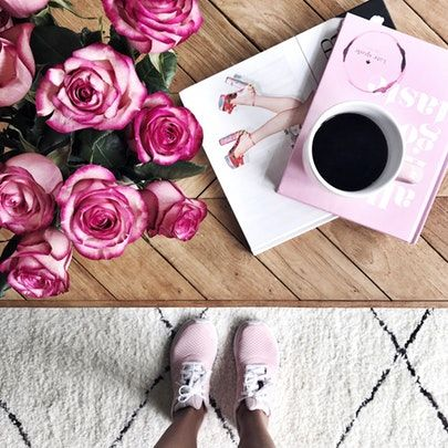 my kind of sweet | home decor | lovely | fashion blogger | style blogger | pink sneakers | mom life (affiliated)