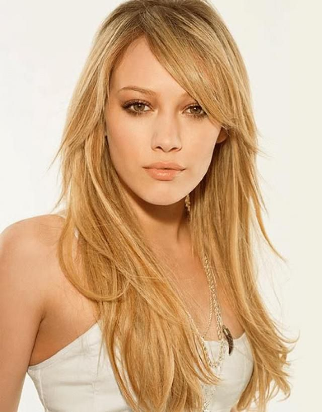 Long Layered Hair cut. I always take a pic of Hilary Duff to the hair dressed, funny I've found her as an example here :)