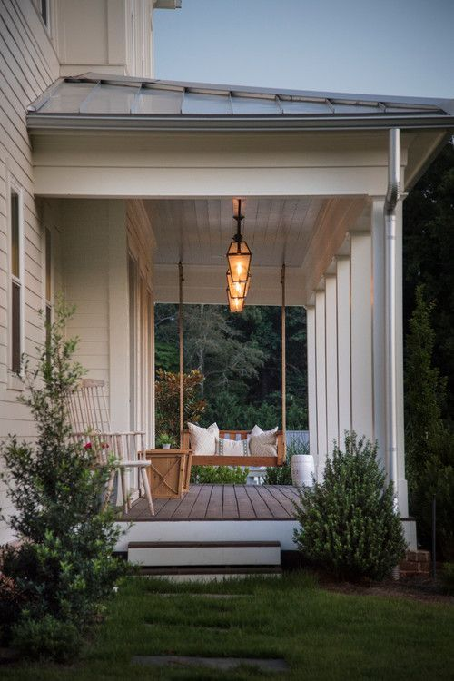 Farmhouse Style Porch Decor Ideas