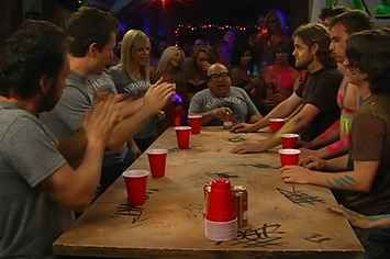 14 Insanely Fun Drinking Games You've Never Heard Of  I'll just substitute the alcohol.
