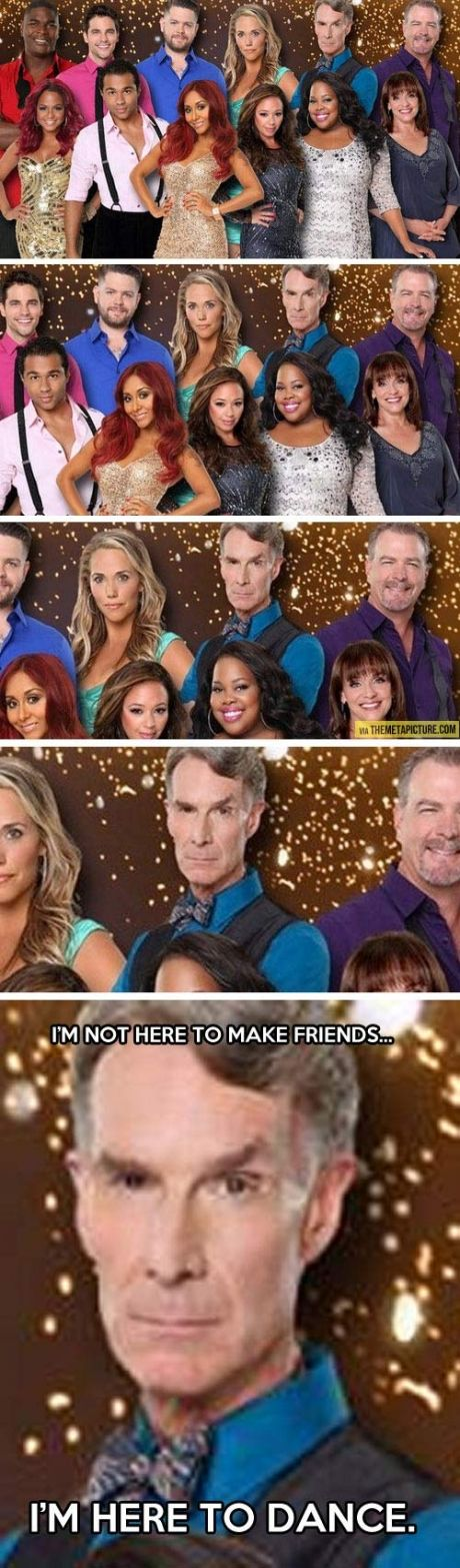 Bill Nye The Science Guy on Dancing With The Stars