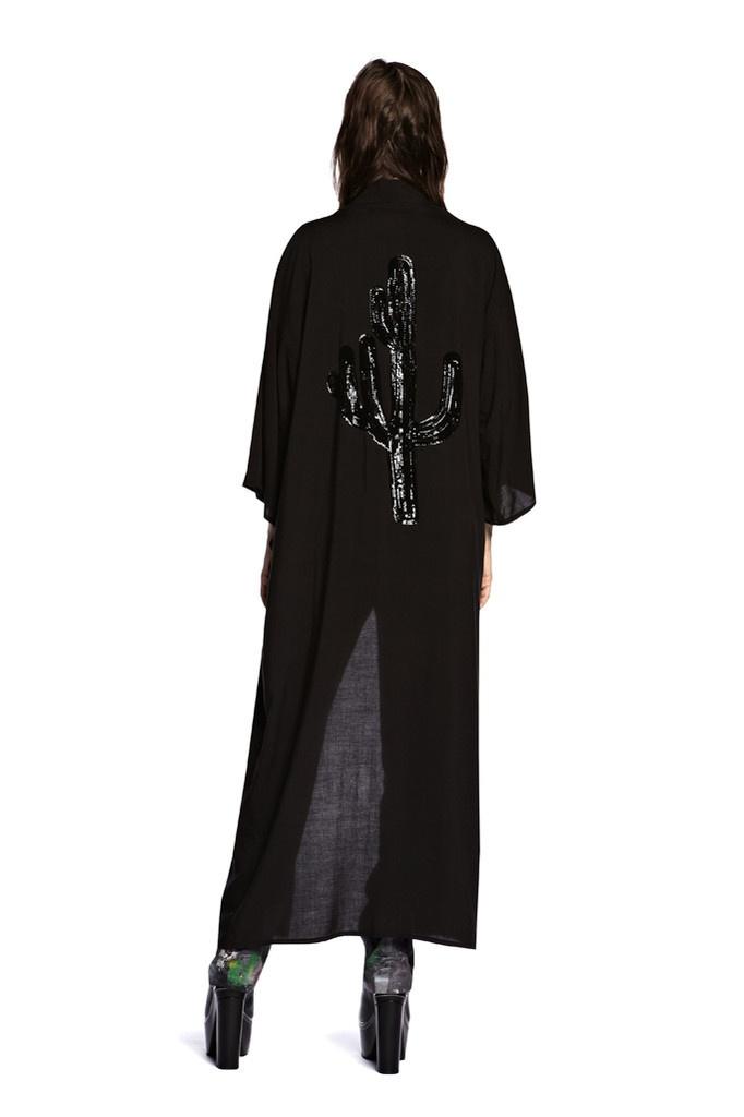 Sequin Moon Kimono . Something Else