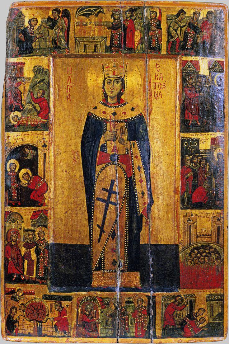 st. katherine's monastery in the sinai desert | Saint Catherine, Mount Sinai, 13th Century