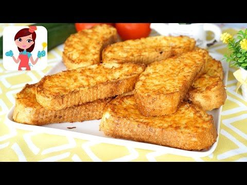 Fırında Yumurtalı Ekmek (Videolu Tarif) | Kevserin Mutfağı - Yemek Tarifleri