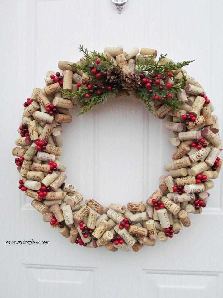 How to make a Christmas Wine Cork