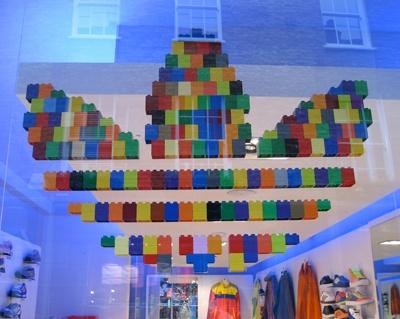 Lego Adidas logo #lego #legosculpture