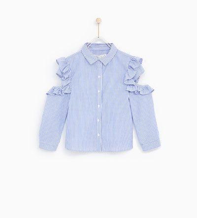 Girls' Shirts and Blouses | Autumn Winter 2017 | ZARA United States
