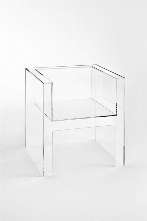 I Love Plastic, SS15 Trends I Pinterest Inspiration  The Invisibles Light armchair - Tokujin Yoshioka