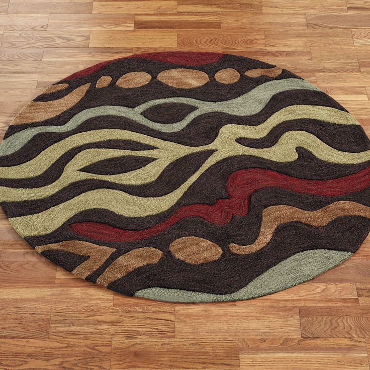 beautiful colorful round area rug - Colorful Area Rugs